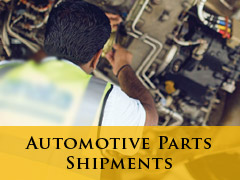 COMING SOON! Automotive Parts Shipment banner