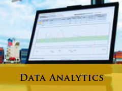 data Analysis vertical banner