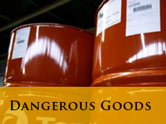vertical dangerous goods banner