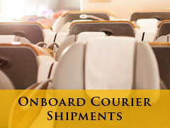 Onboard Courier Shipping banner