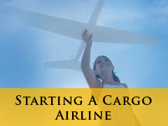 Starting a Cargo airline banner